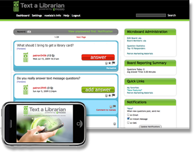 Text Messaging Software for Libraries