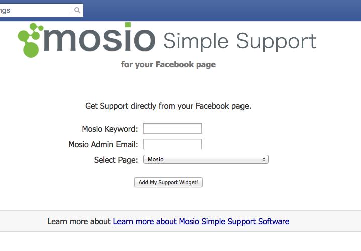 mosio_facebook_app_screenshot